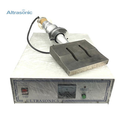 Disposable Mask Machine With 15K Ultrasonic System Horn Size 200*25mm